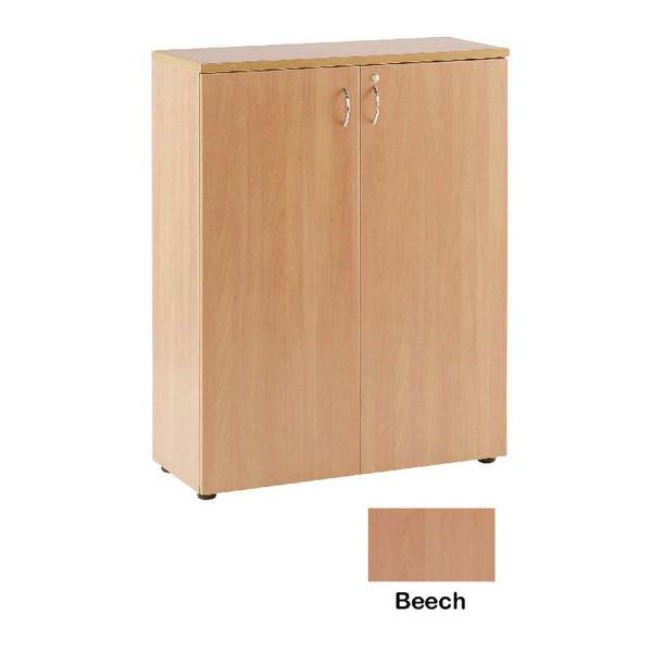 Jemini 1000mm Cupboard 1 Shelf Beech