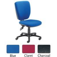 Arista High Back Operator Chair Charcoal 09OP07