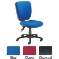 Arista High Back Operator Chair Claret 09OP07