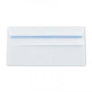 Q-Connect Banker Envelope DL White Self-Seal 120gsm Pack of 1000 KF97366