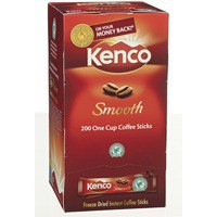 Kenco Smooth Coffee Sticks Pack of 200 65687