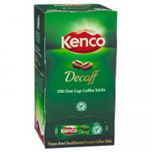 Kenco Freeze Dried Decaffeinated Coffee Sticks 1.8gm Pack of 200 89951