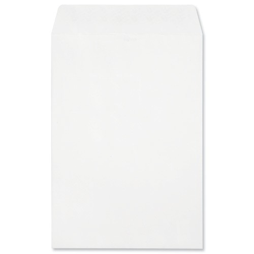 Croxley Script Envelopes Pocket Peel and Seal Pure White C4 [Pack 250]