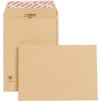 New Guardian C5 Envelopes Heavyweight Pocket Peel and Seal Manilla Pack 250 Code