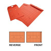 New Guardian Intertac Internal Mail Envelopes Pocket Resealable Manilla Orange C5 [Pack 500]
