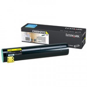 Lexmark 0C930H2YG 24K Yellow REURN Toner