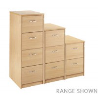 Image for 2 Draw Filing Cabinet - Maple