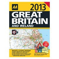 Image for AA Road Atlas Great Britain/Ireland 2013 9780749573560