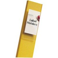 Pelltech Label Holder 55x102mm Pack of 6 PLG25330