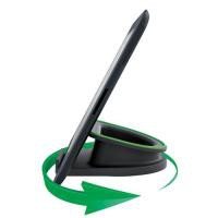 Leitz WOW Complete Rotating Desk Stand for iPad/tablet PC Black