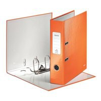 Leitz Wow Lever Arch File A4 85mm Metallic Orange 10050044