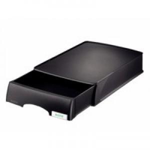 Leitz Plus Drawer Unit Letter Tray Black 52060001
