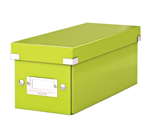 Leitz Wow Archive Click/Store CD Box Green 60410064