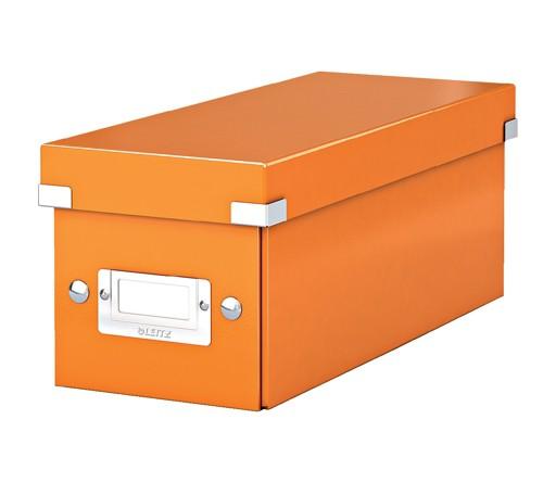 Leitz Wow Archive Click/Store CD Box Orange 60410044
