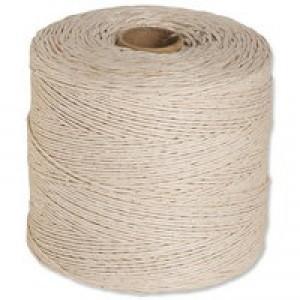 Flexocare Cotton Twine 250Gms Thin White Pk 6 77658006