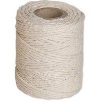 Flexocare Cotton Twine 250gms Medium White Pack of 6 77658009