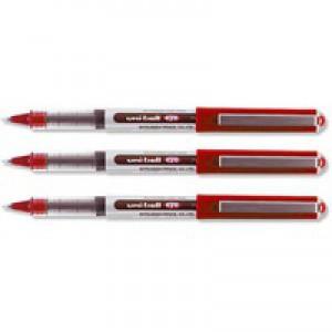 Uni-Ball Eye Micro Rollerball Pen 0.2mm Line Red UB150 9000502