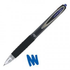 Uni-Ball Signo UMN207 Retractable Gel Ink Rollerball Pen 0.5mm Line Blue 9004601