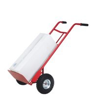 Barton Pneumatic Tyre Sack Truck Red PTST
