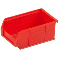Barton Small Parts Container Open Front Red 0.85 Litre 165x100x75mm 010022