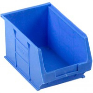 Barton TC3 Small Parts Container Semi-Open Front Blue 4.6 Litre 150x240x125mm Pack of 10 010031