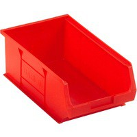 Barton TC4 Small Parts Container Semi-Open Front Red 9.1 Litre 200x355x125mm Pack of 10 010042