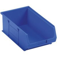 Barton Small Parts Container Open Front Blue 9.8 Litre 200x355x125mm 010041