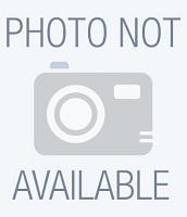 Tally Fabric Ribbon Black Pack of 5 062471
