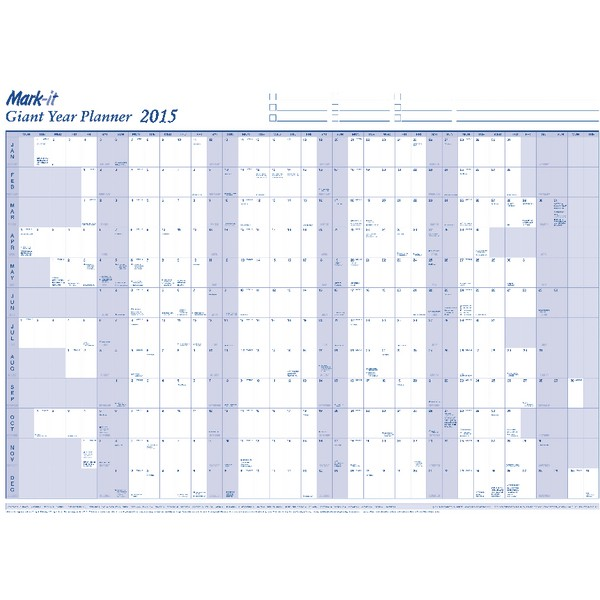 Map marketing 2015 giant year planner  15yp