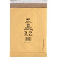Mail Lite Padded Postal Bag Peel and Seal 264x374mm Pack of 50 MLPB H/5