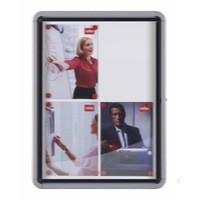 Nobo Glazed Display Case External Metal 9x A4 Code 1902580
