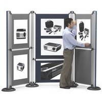 Image for Nobo New Modular Display System Pole and Base 1902216