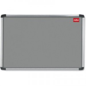 Nobo Notice Board 1200x900mm Aluminium Frame Grey AF43 30230158