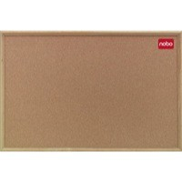 Nobo Cork Board 1200x900mm Classic Oak 37639004
