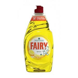 Fairy Liquid for Washing-up Lemon 450ml Ref Y03575 [Pack 2]