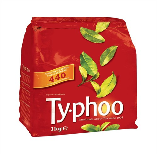 Typhoo Tea Bags Vacuum-packed 1 Cup Ref A01006 [Pack 440]