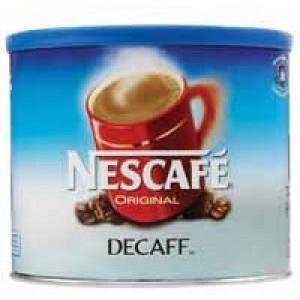 Nescafe Original Coffee Granules Decaffeinated 500gm Tin