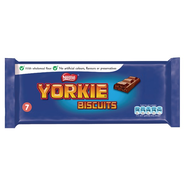 Nestle Yorkie Biscuit Pack of 7 12130127