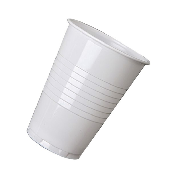Nupik Tall Plastic Vending Hot Drink Cup White Pack of 2000 5585