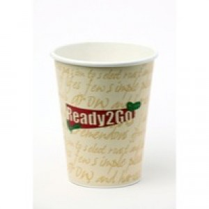 Nupik-Flo Ready To Go Paper Cup 12oz Pack of 50 R2GO12