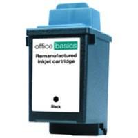 Office Basics Lexmark 1000/1020/2030 Inkjet Cartridge Black 13400HC