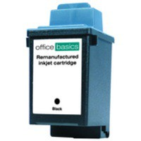 Office Basics Lexmark 1000/1020/2030 Inkjet Cartridge Black 13400HC