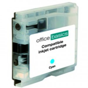 Office Basics Brother Remanufactured Inkjet Cartridge Cyan LC1000C