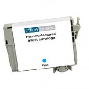 Office Basics Epson T12924010 Inkjet Cartridge Cyan