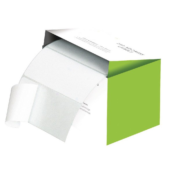Office Basics Typewriter Address Label White Pack of 250 PL3000
