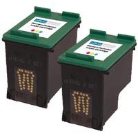 Office Basics HP No344 Inkjet Cartridge Tri-Colour Pack of 2 C9505EE