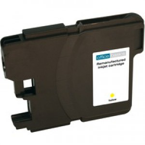 Office Basics Brother LC-1100 Inkjet Cartridge Yellow LC1100Y