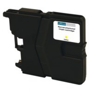 Office Basics Brother LC985 Inkjet Cartridge Yellow LC985Y