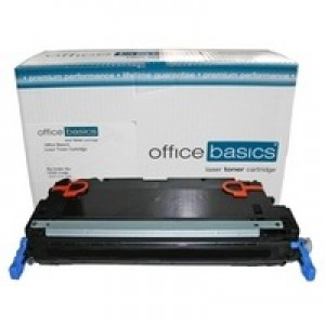 Office Basics HP Colour LaserJet 3600/3800 Laser Toner Black Q6470A