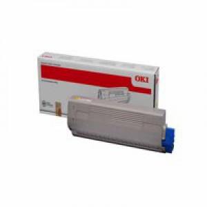 Oki C831/841 Toner Cartridge Yellow 44844505